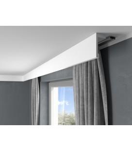 Garnižová stropná lišta MARDOM QL116 - vhodná pre LED podsvietenie