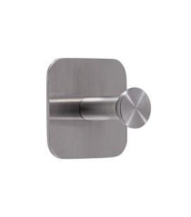 Jednoduchý samolepiaci vešiak Inox N020